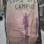 Cops off Campus Protest, UoL 5/12/2013 - image Kittie Walker