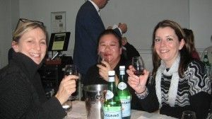 Fiona, Vicky and Alex, three of your corresponden't fellow wine tasters