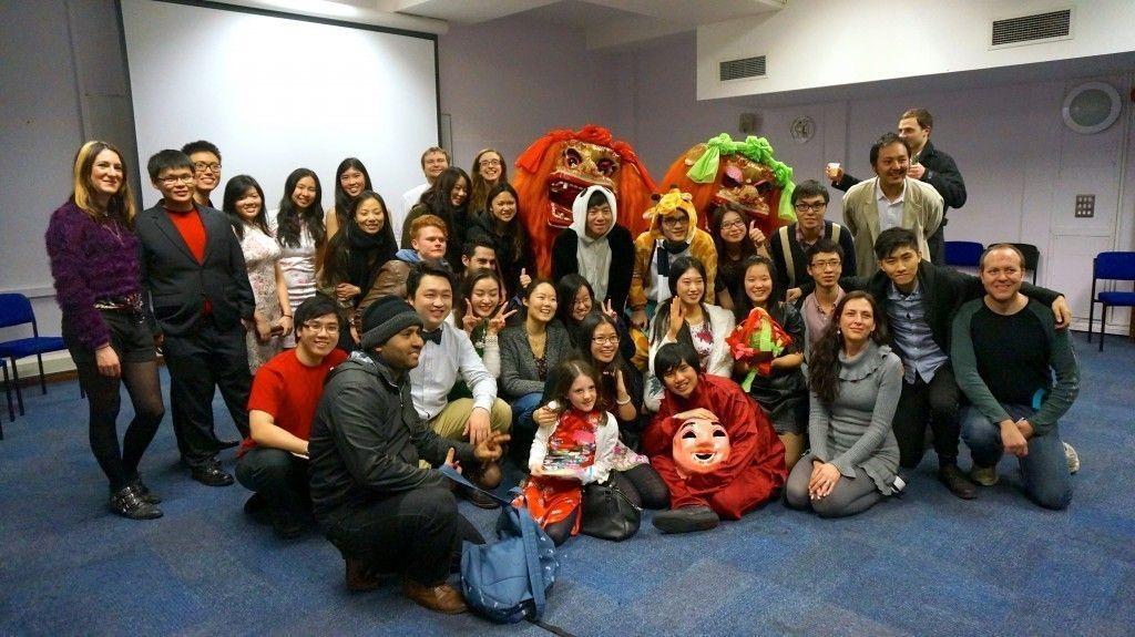 Group Photo - Birkbeck Chinese Society - Chinese New Year celebrations