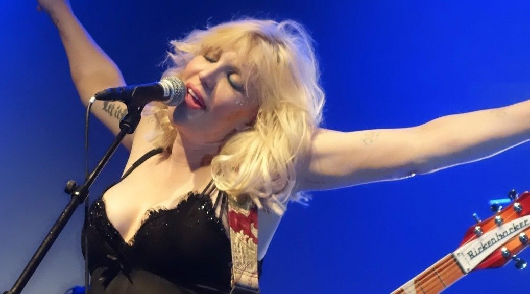 Courtney Love May 2014 O2 Hammersmith London